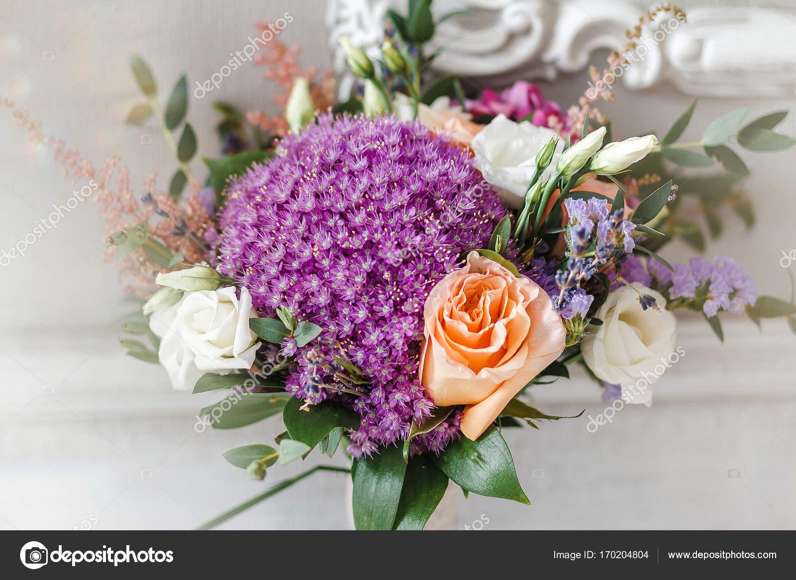 Beautiful purple wedding flowers bouquet stock photo frantic00 beautiful purple wedding flowers bouquet photo by frantic00 izmirmasajfo