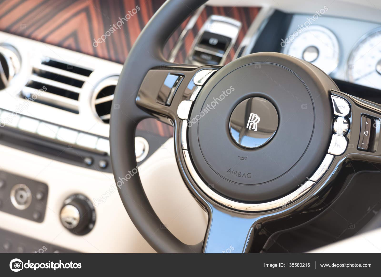Rolls Royce Vehicle Interior Stock Editorial Photo C Nelsonart