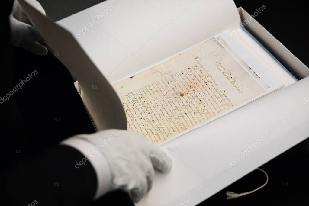 Documents of Ukrainian Cossacks stored in State Archive of Swede