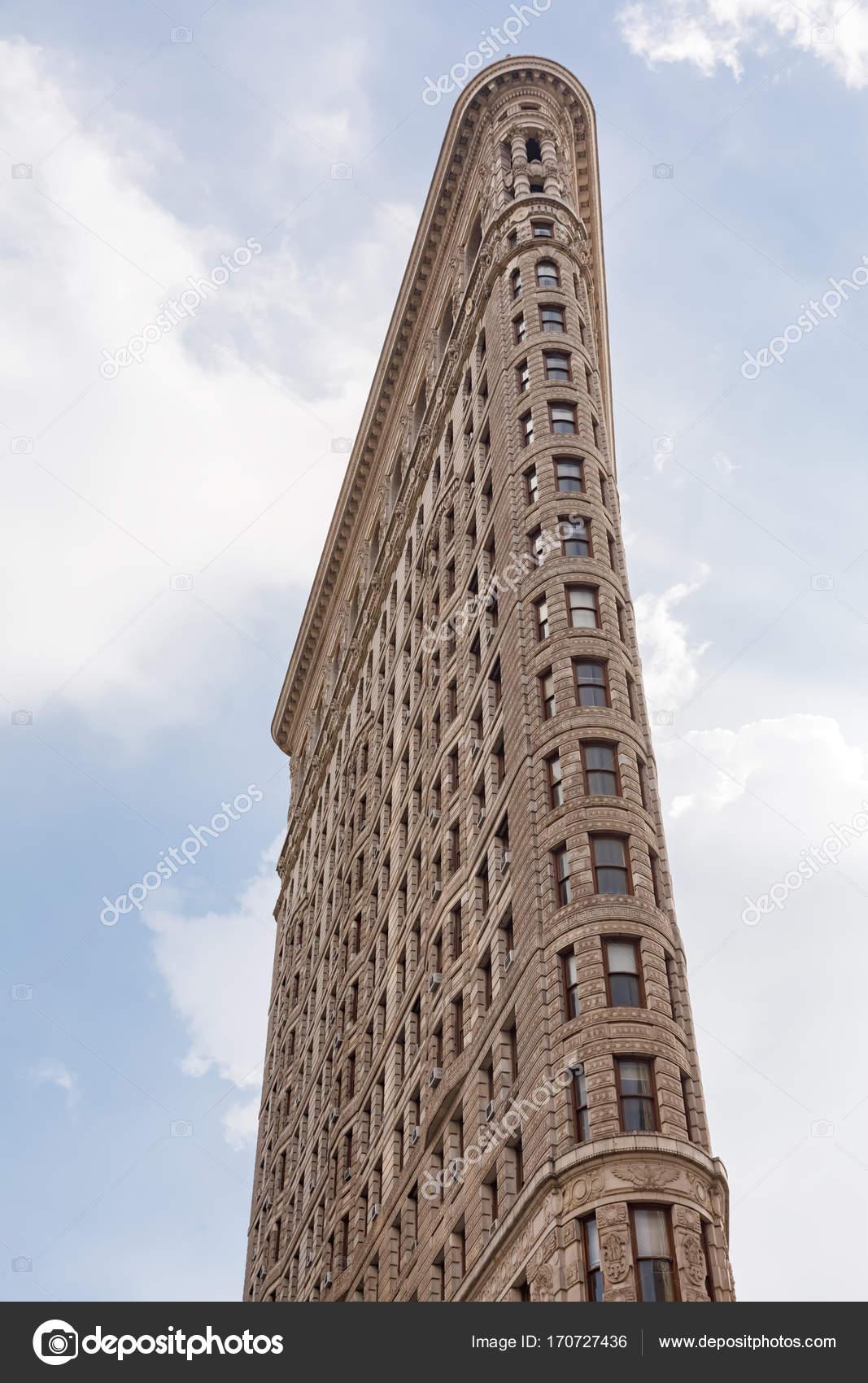 Flatiron Building in New York City — Redaktionelles Stockfoto ...
