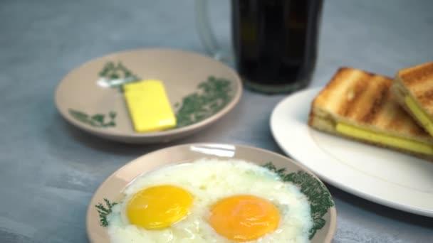 blízkou ránu z Hainamu styl napůl vařené vajíčko