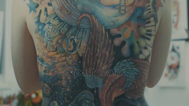Obrázek hotové tetování