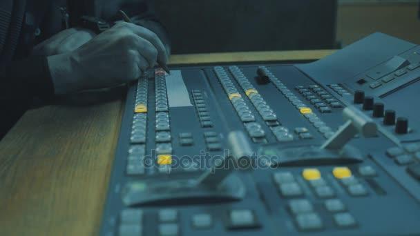studio di registrazione audio.