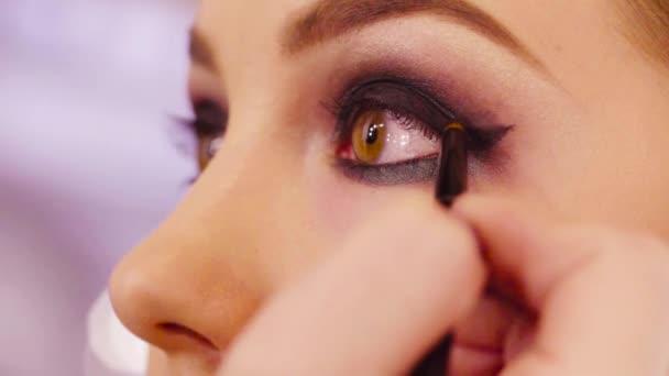 Oční stíny make-up artist stínování
