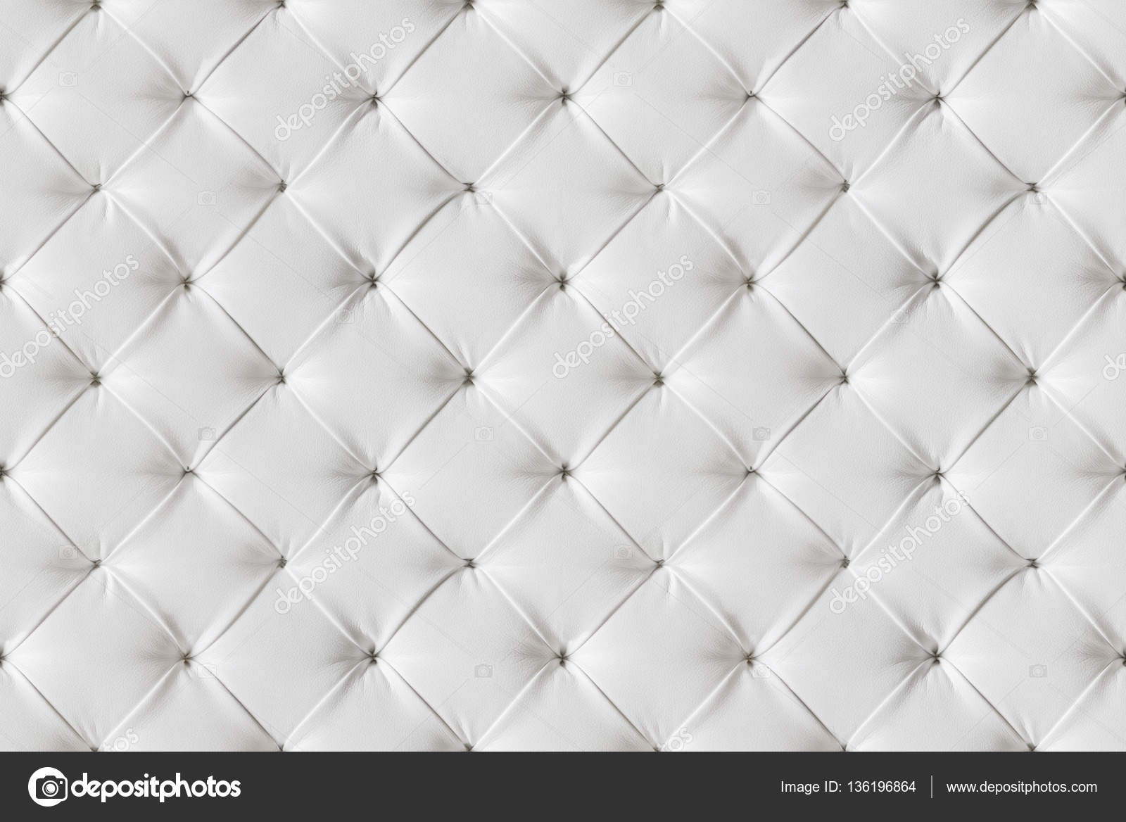 Leather Sofa Texture Seamless Background White Leathers Upholstery Stock Photo