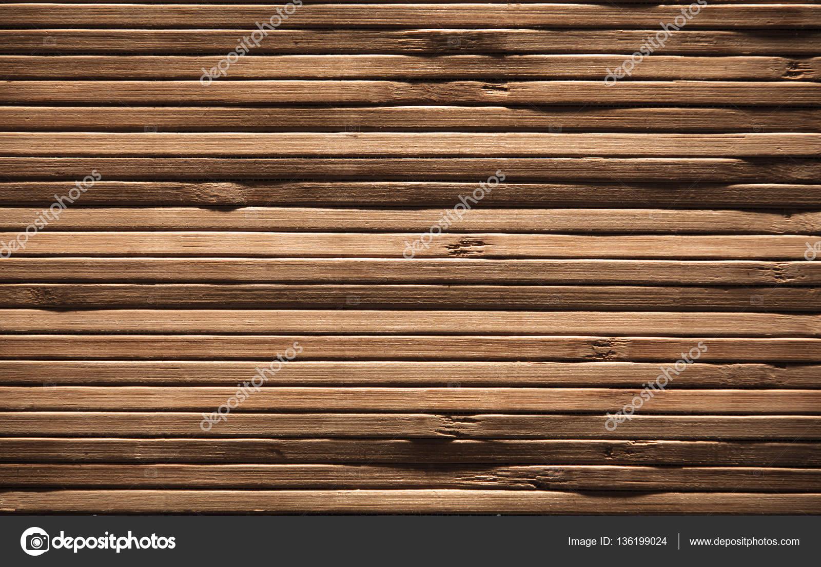 Hout planken achtergrond bruin houten patroon bamboe plank muur