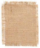 Pytlovina Patch Label, kus pytloviny, pytle tkaniny lněné juty