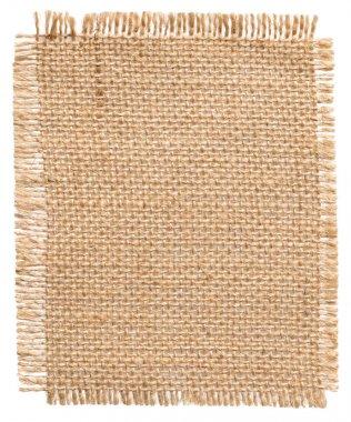 Burlap Fabric Patch Label, Sackcloth Piece, Sack Cloth of Linen Jute