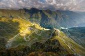 Transfagarasan-Autobahn in Rumänien