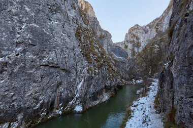 River in mountain pass
