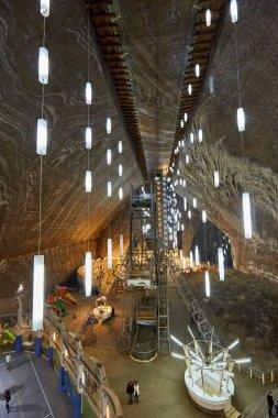 Turda salt mine in Romania