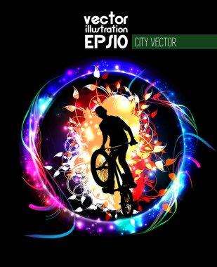 image of BMX cyclist