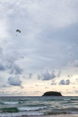 Parasailing at Patong Beach in Phuket