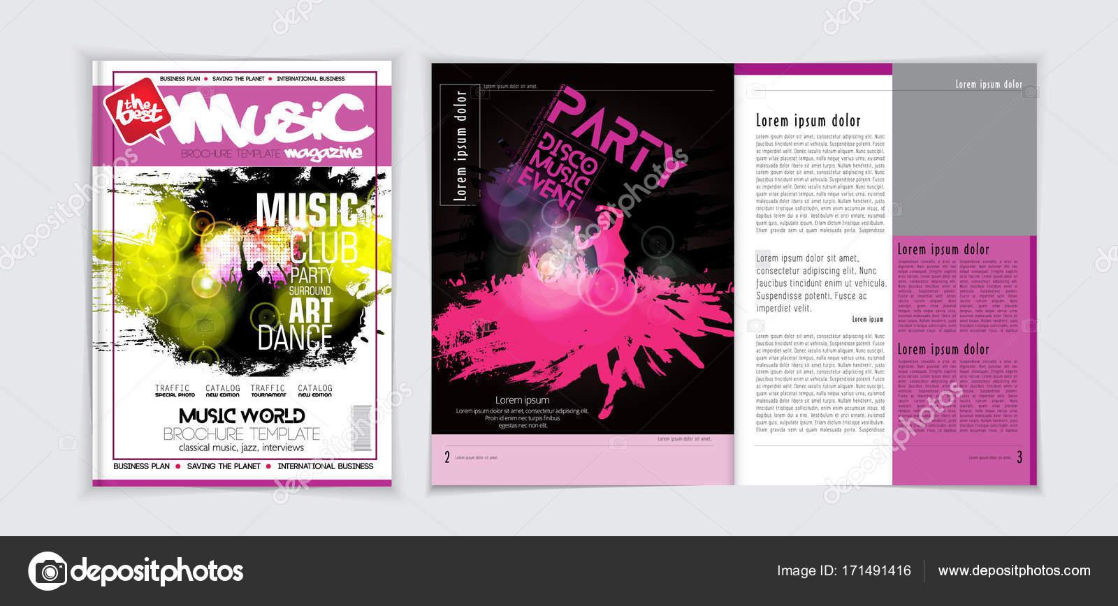 Party-Magazin-Cover Vorlage — Stockvektor © zeber2010 #171491416