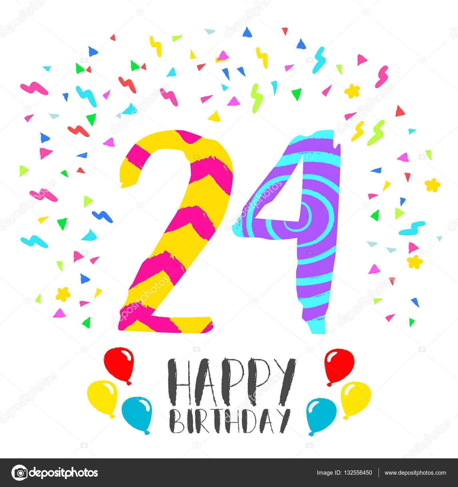 Imágenes Feliz Cumpleanos 24 Feliz Cumpleaños Para La