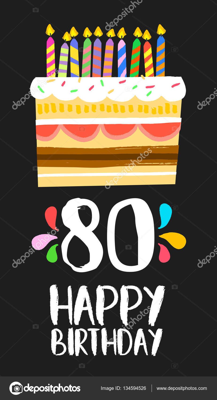 Auguri Di Buon Compleanno 81 Anni.Disegni Di Torte Per Compleanno Scheda Di Buon Compleanno