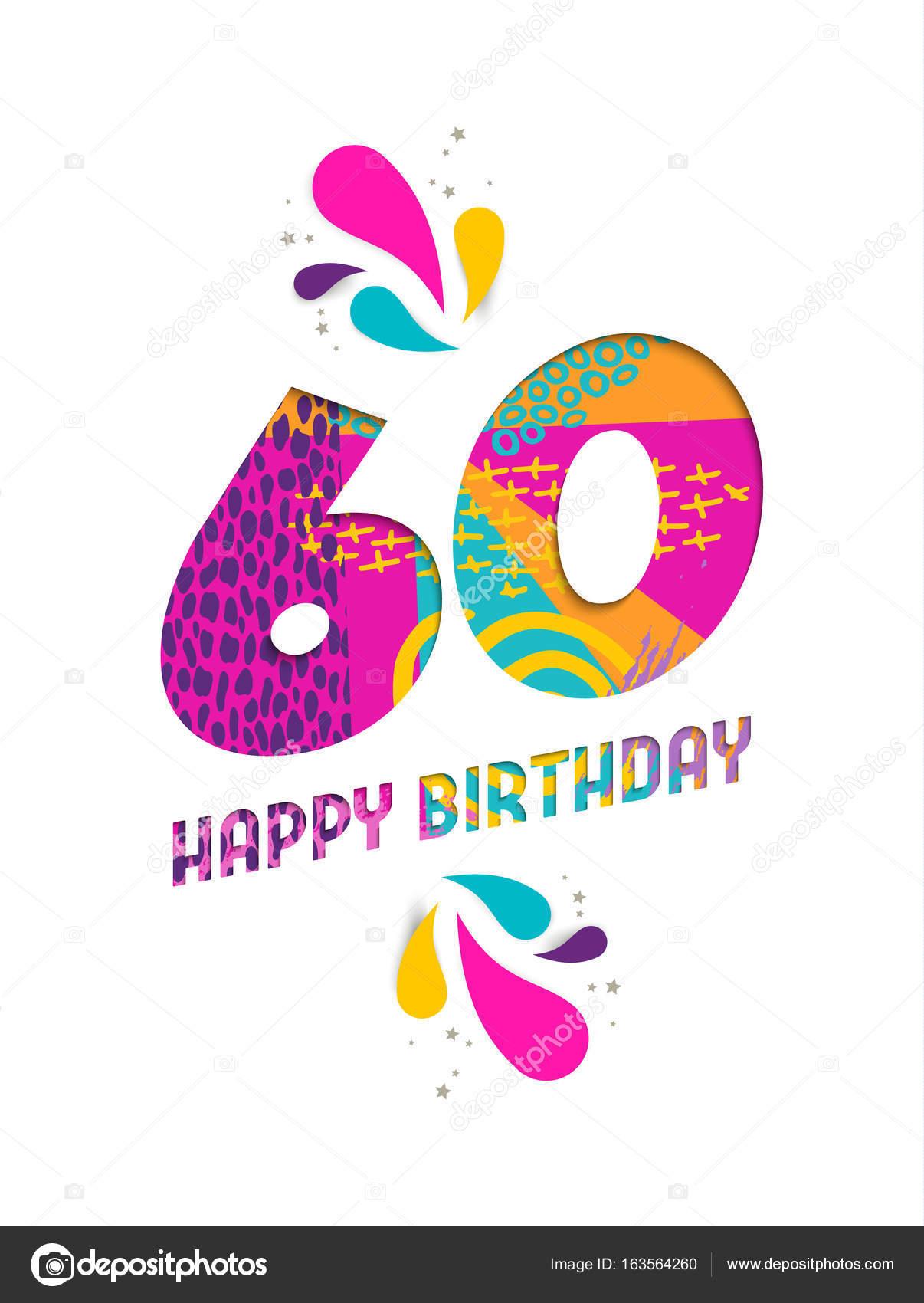 Super Gelukkige Verjaardag Vrouw 60 Jaar | Parksidetraceapartments @FD12
