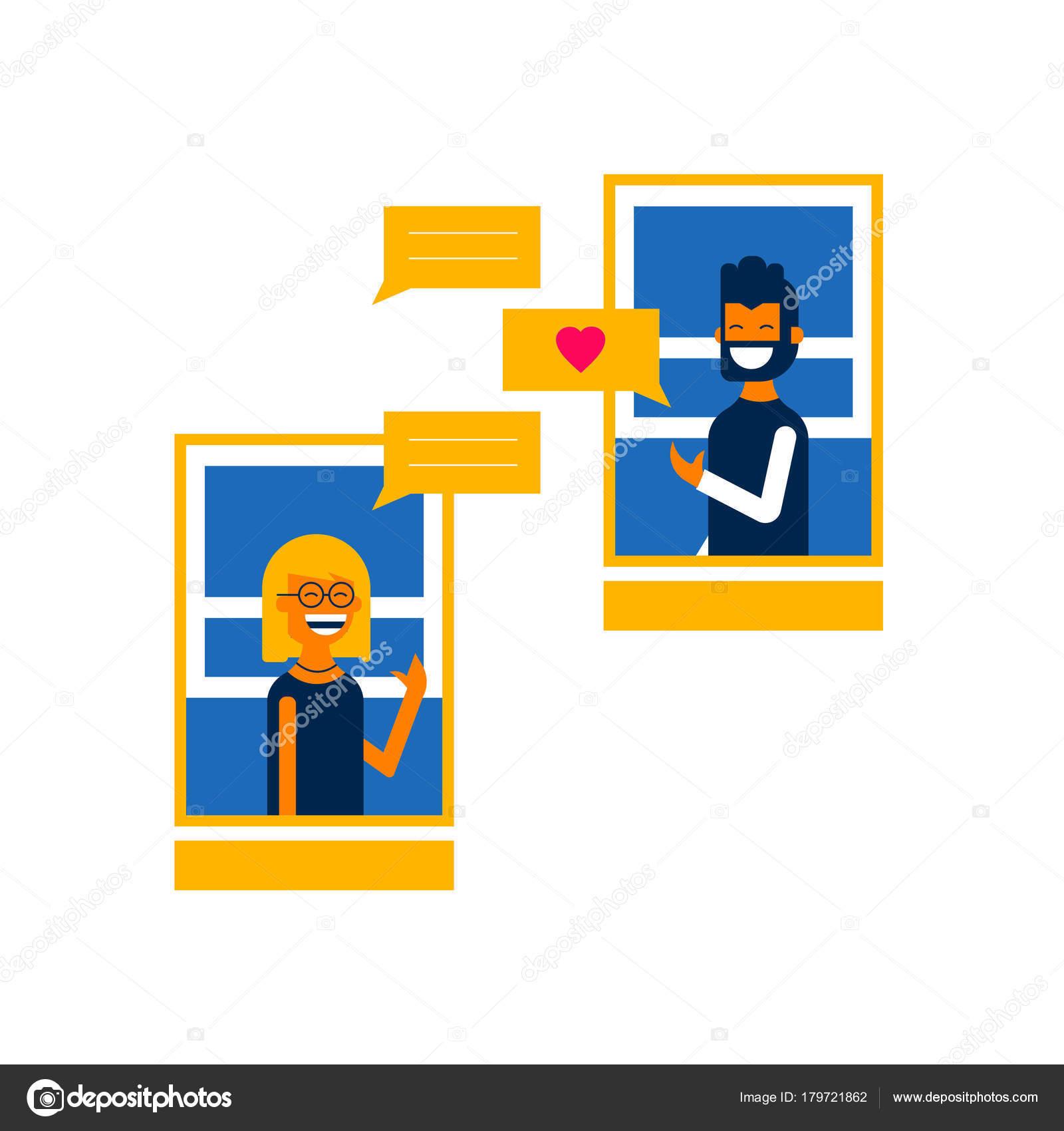 Chlapec a dívka datování obrázků