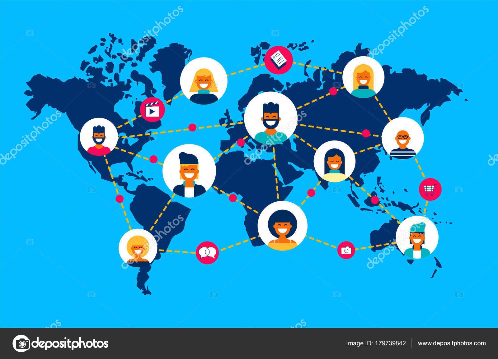 как найти связи людей