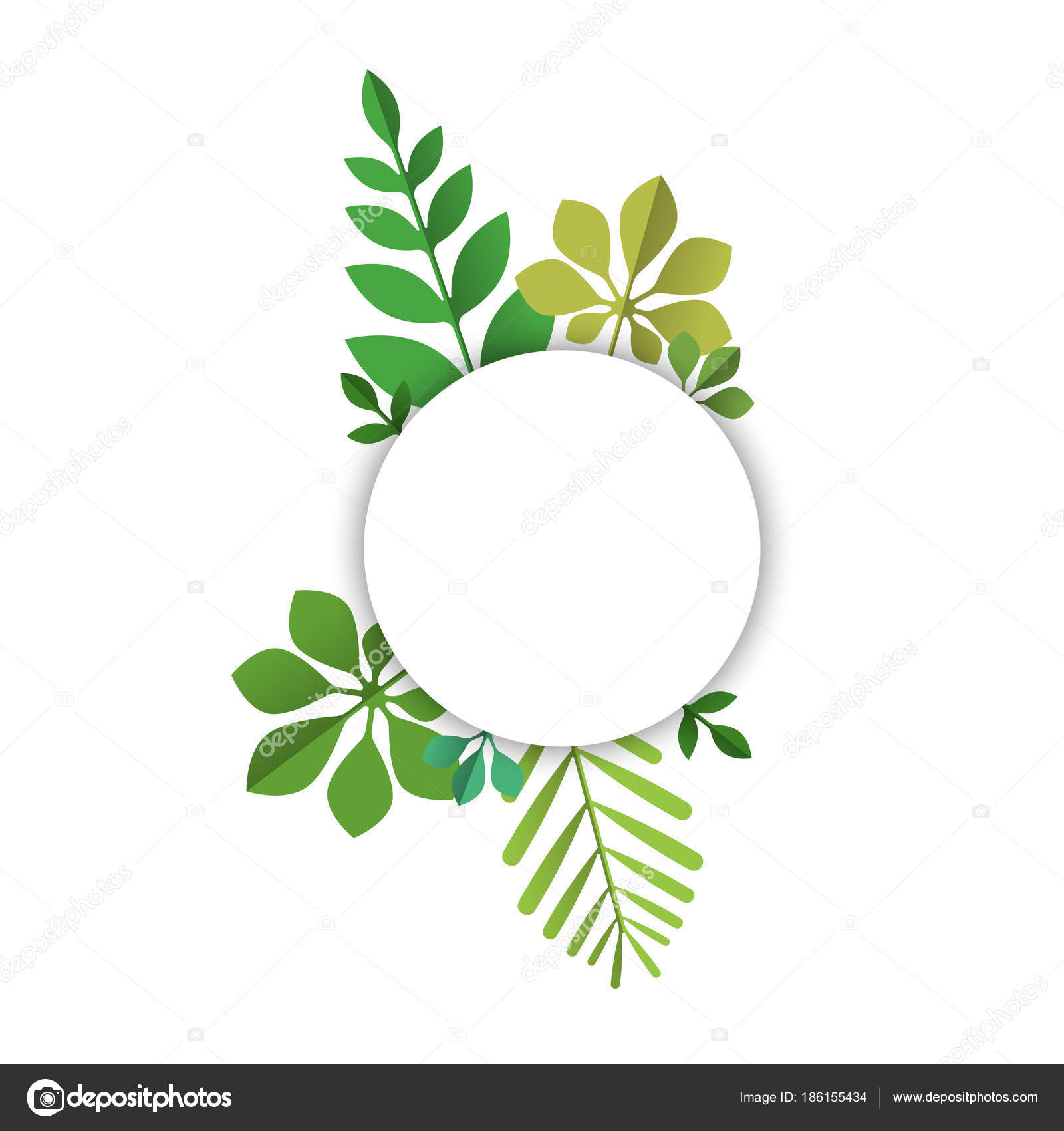Paper Palm Leaf Template Green Tropical Leaf Sign Template For Text Label Stock Vector C Cienpies 186155434 Scatter these polyester tropical leaves on beach party tables to create an authentic tropical island atmosphere! paper palm leaf template green tropical leaf sign template for text label stock vector c cienpies 186155434