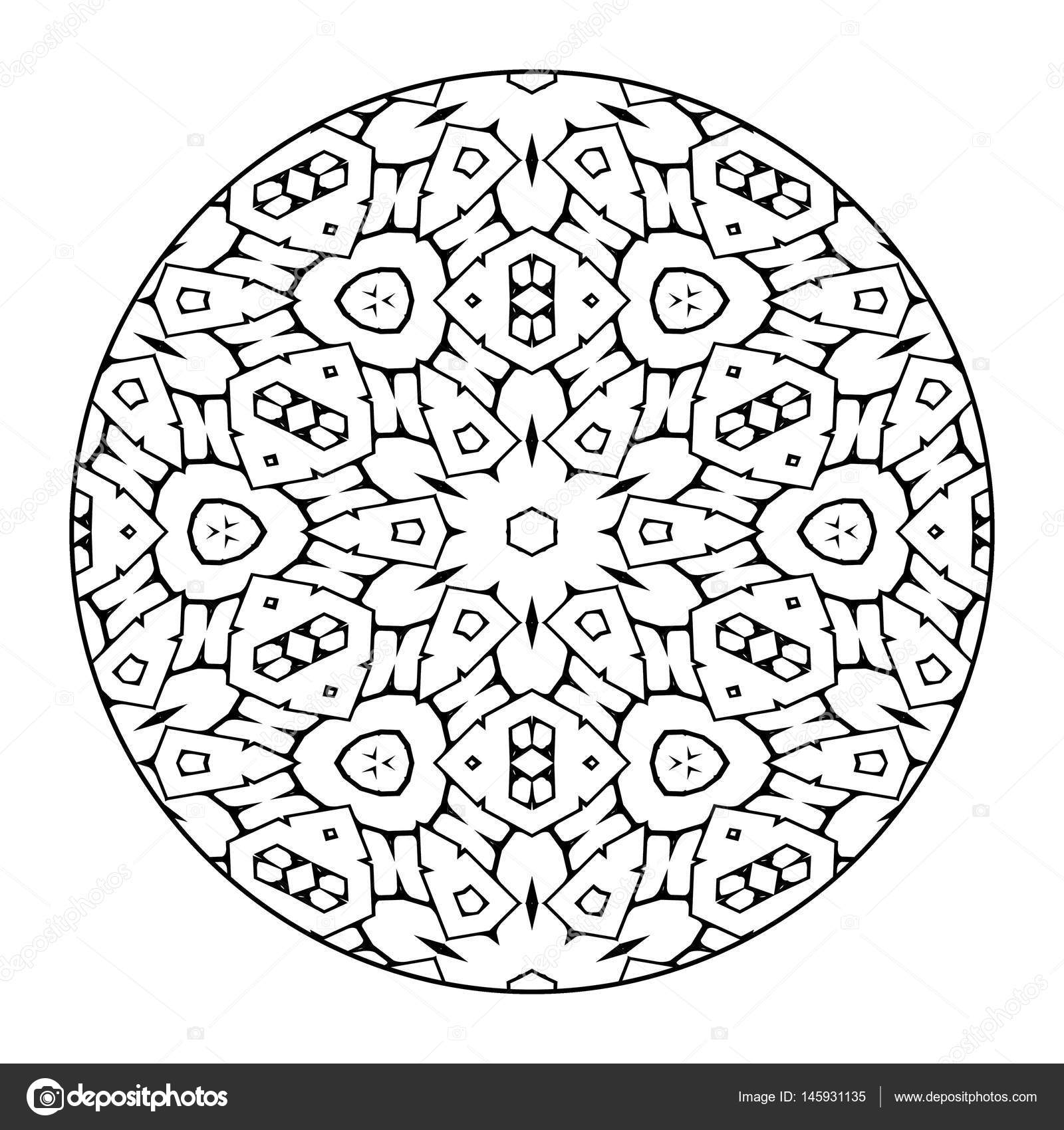 orientalische ornamente mandala stockfoto 145931135. Black Bedroom Furniture Sets. Home Design Ideas