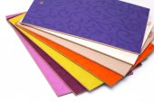 Photo Laminated particleboard chipboard is used in the furniture ind