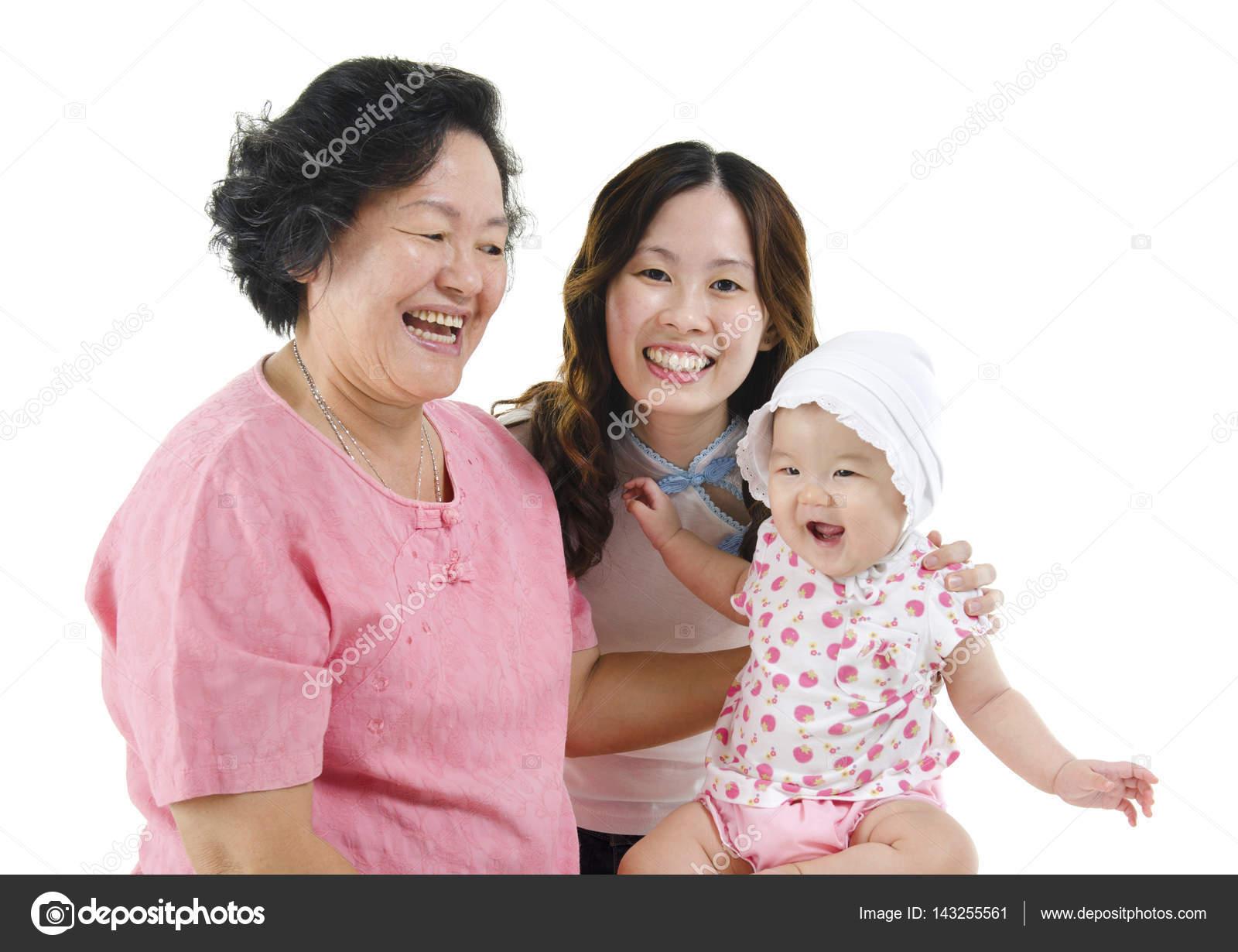 grandmother mother and grandchild stock photo szefei 143255561