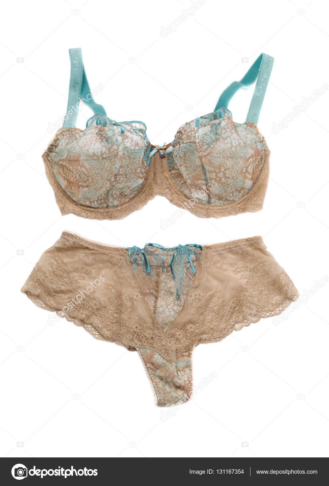 fc1123fb3 Conjunto bege de lingerie — Stock Photo © Ruslan  131167354