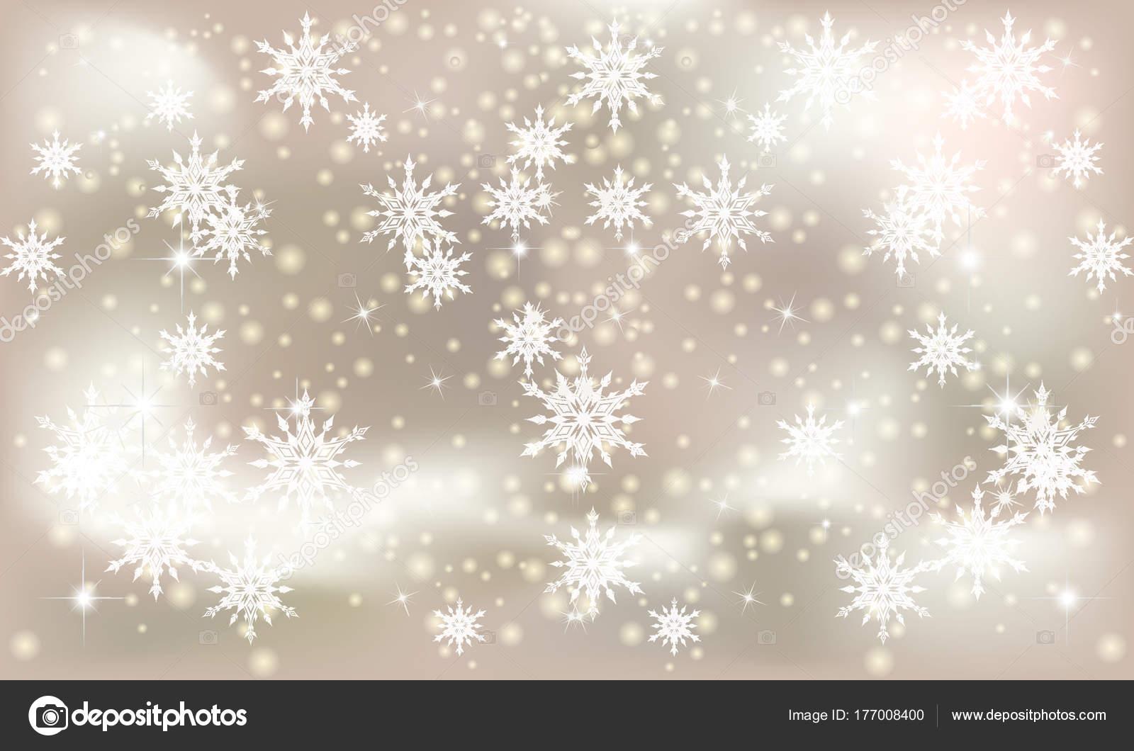 Sfondi Natalizi Eleganti.Illustrazione Nevicata Disegno Disegno Illustrazione Vettoriale