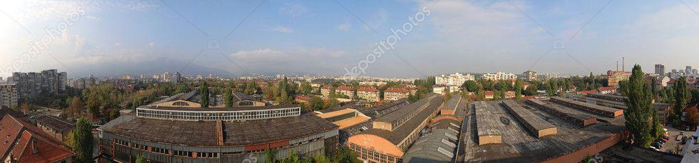 Panorama Di Sofia Bulgaria Foto Editoriale Stock Baloncici