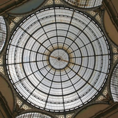 Glass Skylight Dome