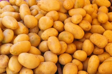Young Raw Potatoes