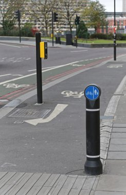 Bike Lane Crossing
