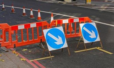 Street Works Traffic Arrows