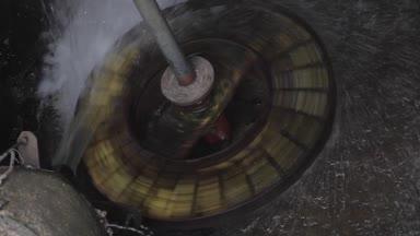 Rotační vodní kolo