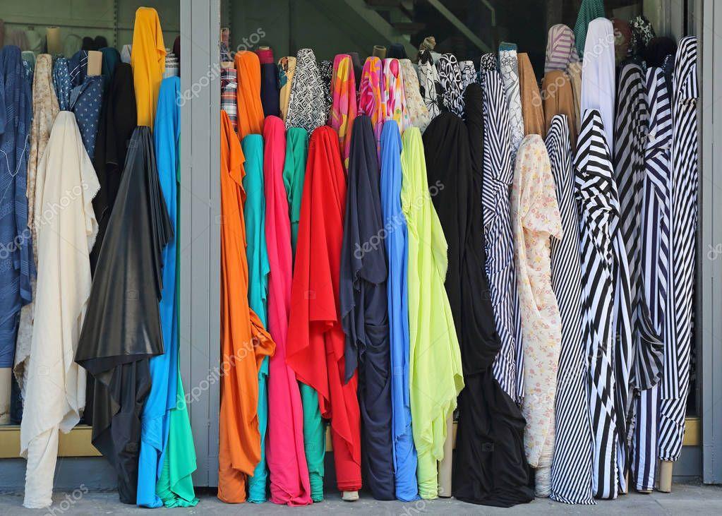 Material Textile Rolls