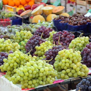 Grapes at Market