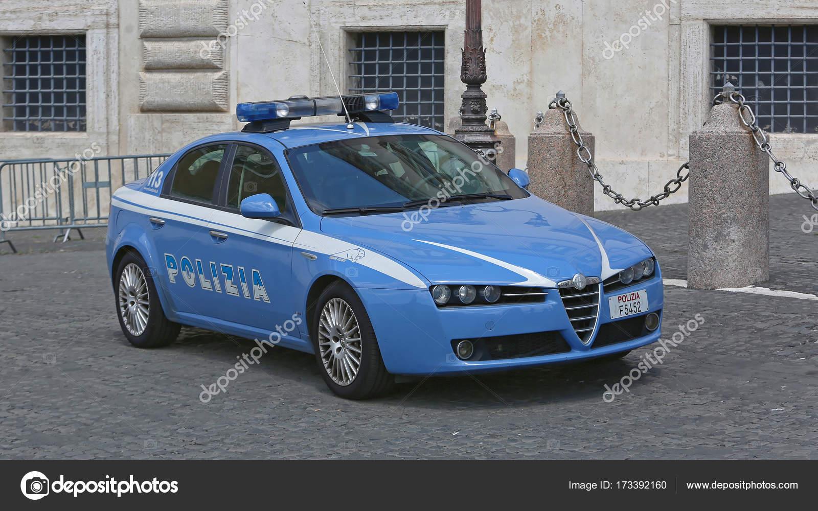 Polizeiauto Italien
