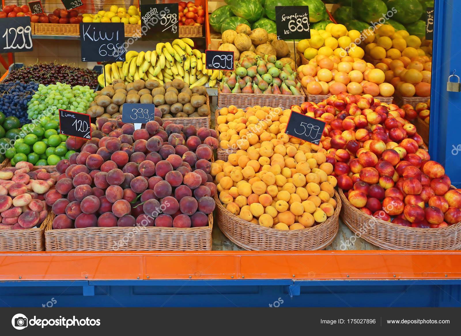 Груда фруктов