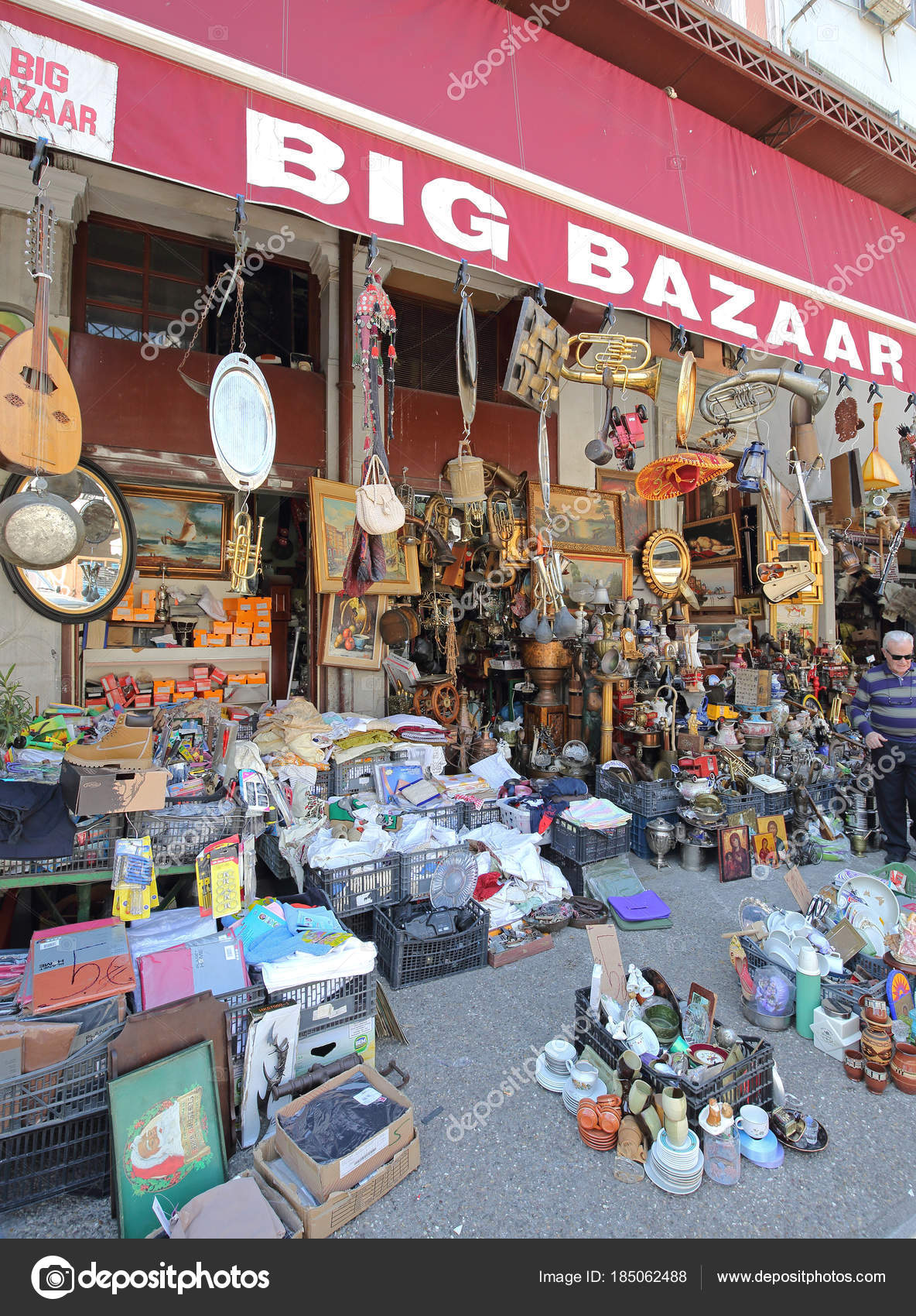 Athens Big Bazaar – Stock Editorial Photo © Baloncici #185062488