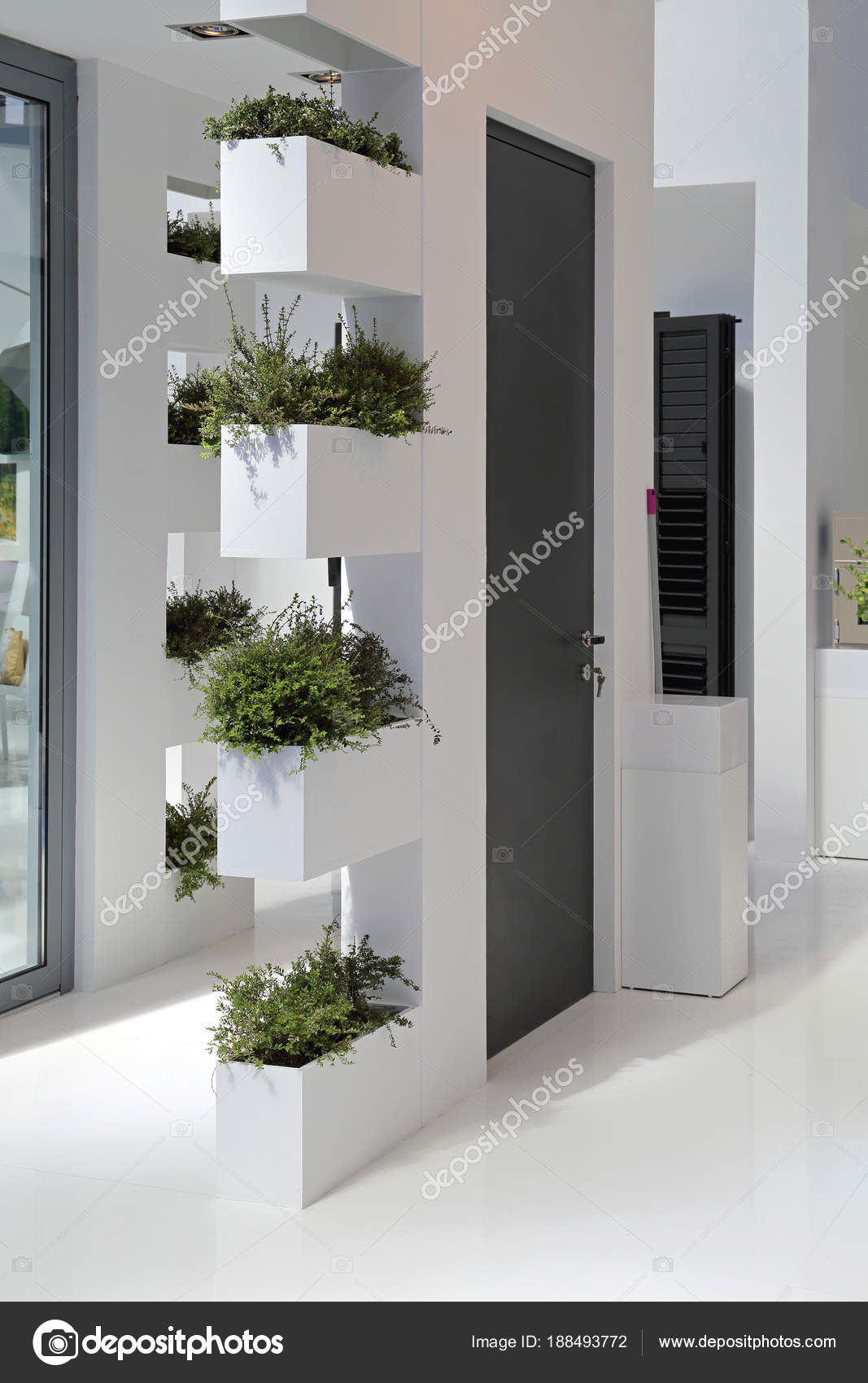 Affordable giardini in verticale parete angolo nella casa foto di baloncici with giardini in casa - Giardino verticale in casa ...
