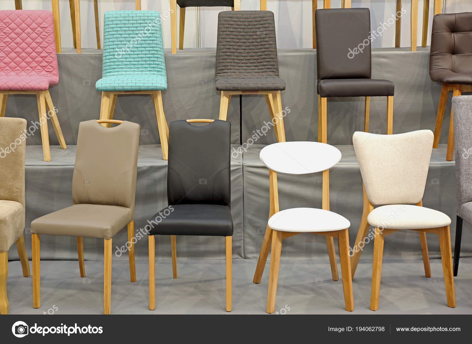New Modern Chairs Stock Photo Baloncici 194062798