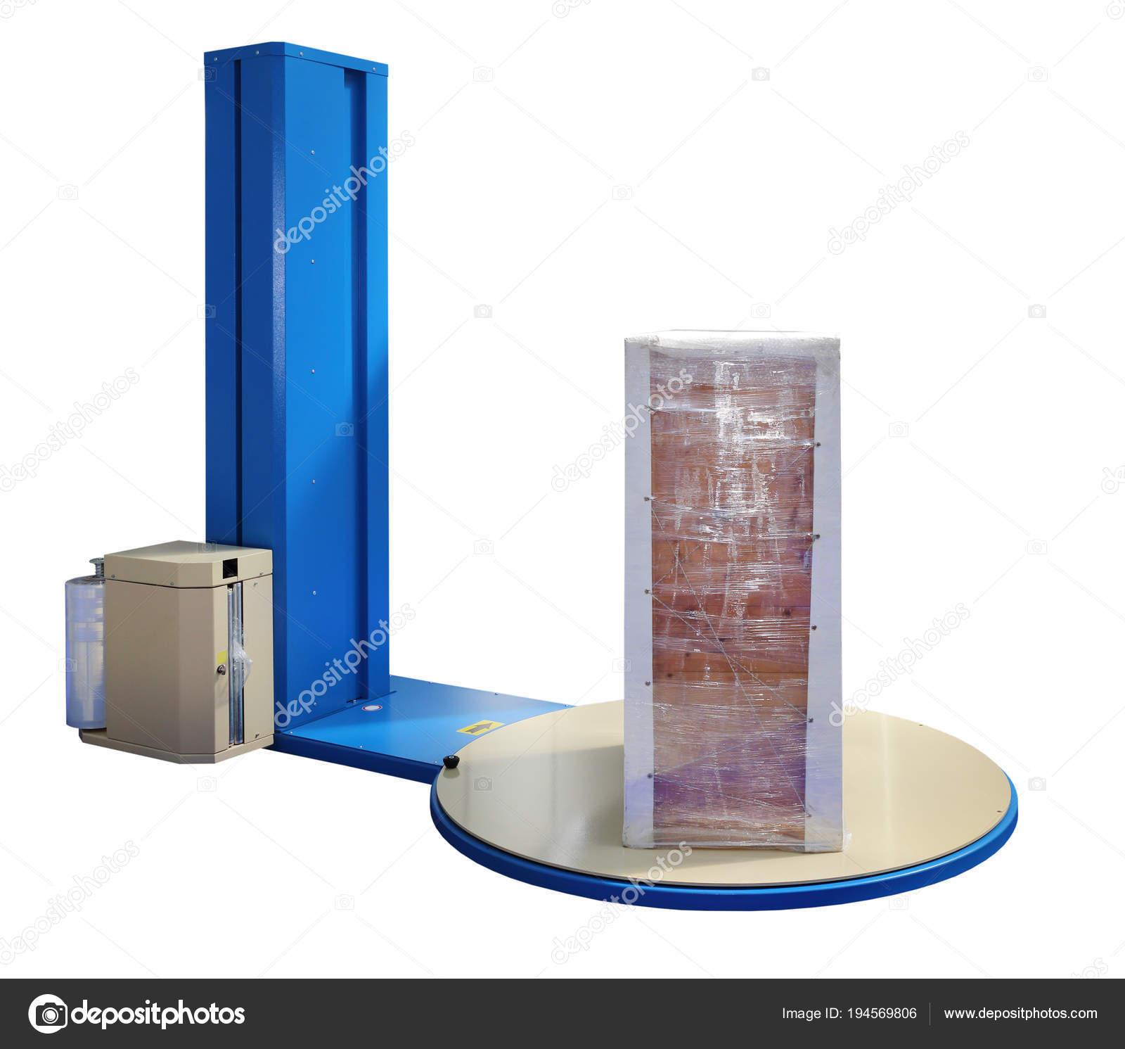 Dehnen Verpackungsmaschine Stockfoto C Baloncici 194569806