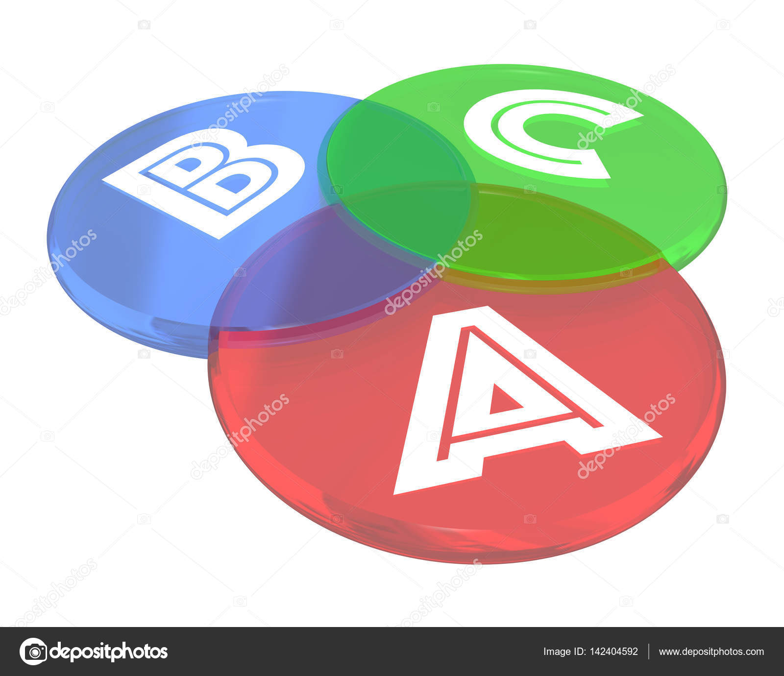 A b c steps levels venn diagram circles stock photo iqoncept a b c steps levels venn diagram circles 3d illustration photo by iqoncept pooptronica