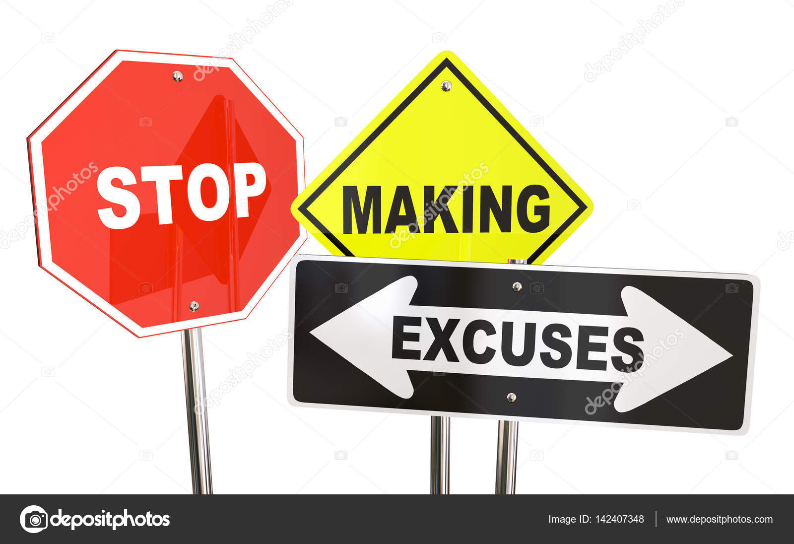excuses maken