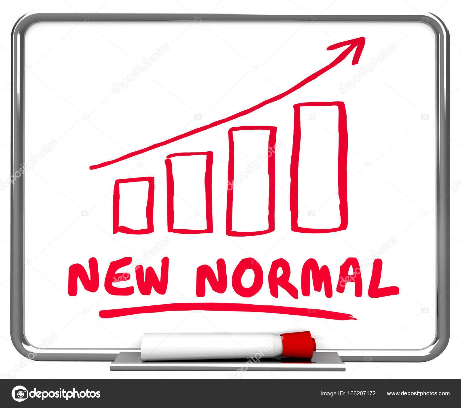 New Normal Reality Conditions Arrow Stock Photo C Iqoncept