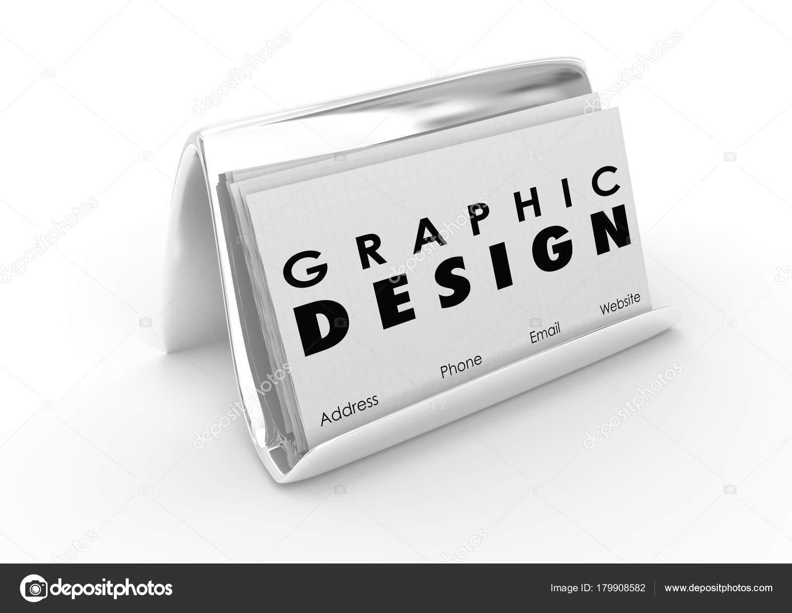 Grafik Design Visitenkarten Künstler Designer Illustration