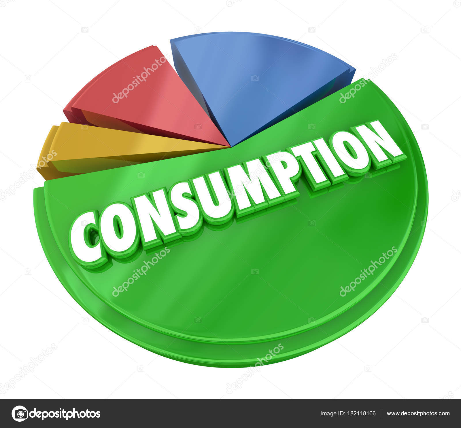 Consumption pie chart consume resources products illustration consumption pie chart consume resources products 3d illustration photo by iqoncept nvjuhfo Choice Image