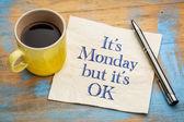 Ok, ez a hétfő - szalvéta