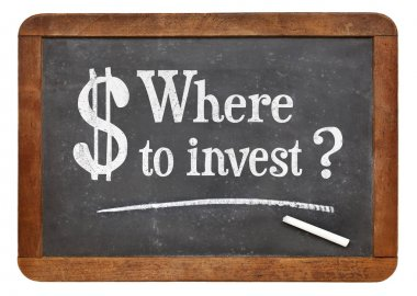 Where to invest question on blackboard